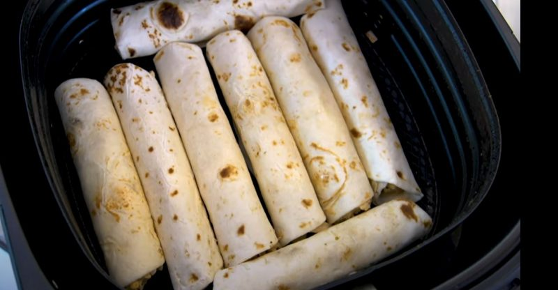 How Long To Cook Taquitos In An Air Fryer