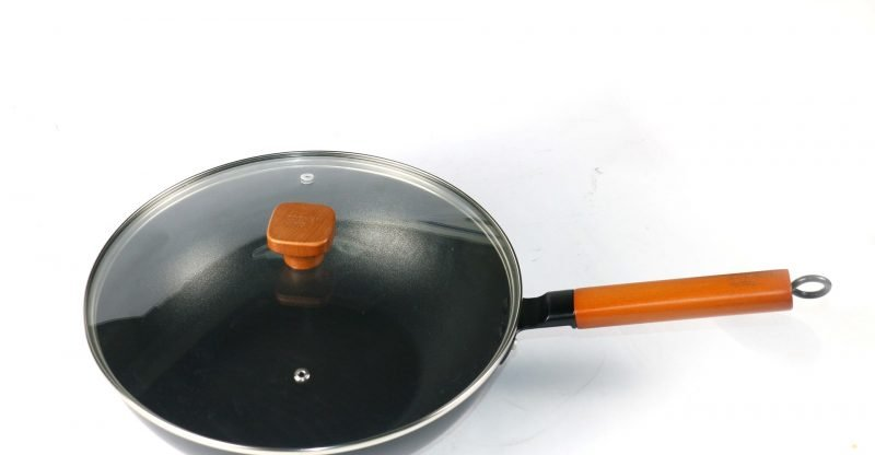 Flat Bottom Wok for Electric Stove