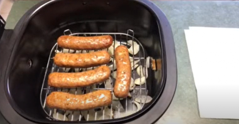 How To Cook Italian Sausage In Air Fryer Youtube
