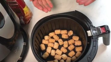 How to Cook Tater Tots in The Air Fryer