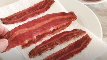 How to Air Fry Turkey Bacon