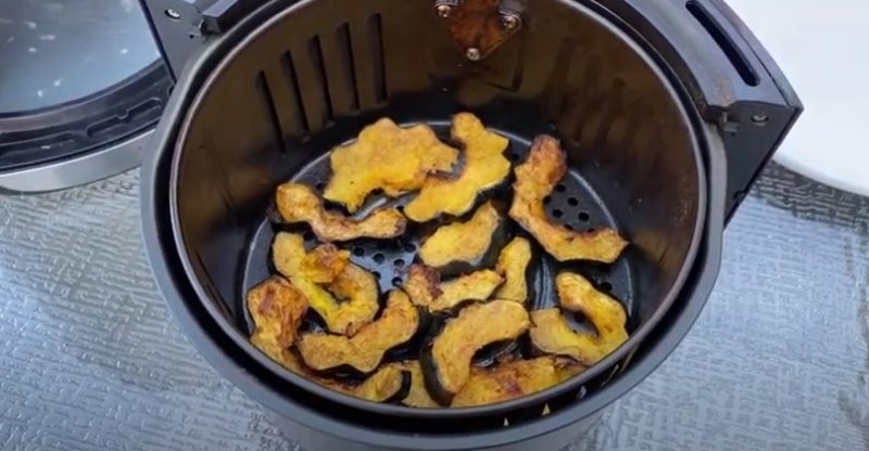 how to cook acorn squash in air fryer