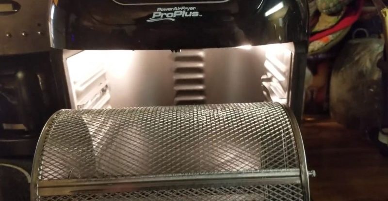 How To Use Power Air Fryer Rotating Basket