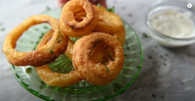 How to Make Frozen Onion Rings in the Air Fryer