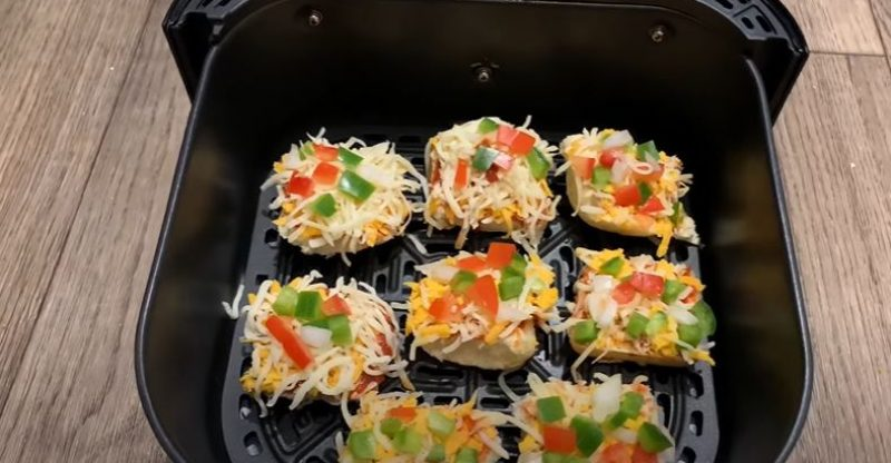 How to Cook Pizza Bites in Air Fryer